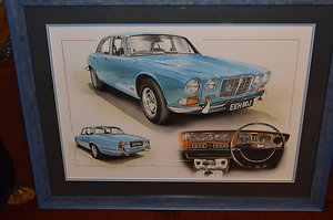 Page 3 - Automobilia. Jaguar XJ6 by Chris Dugan