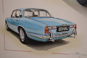 Page 3 - Automobilia. Jaguar XJ6 rear
