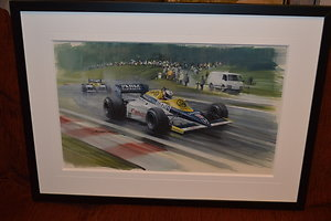 Page 3 - Automobilia. Nigel Mansell - Spa