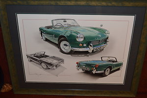 Page 3 - Automobilia. Triumph Spitfire by Chris Dugan